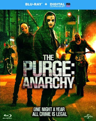 The Purge 2 Anarchy 2014 Dual Audio [Hindi-Eng] 300mb BRRip 480p ESub